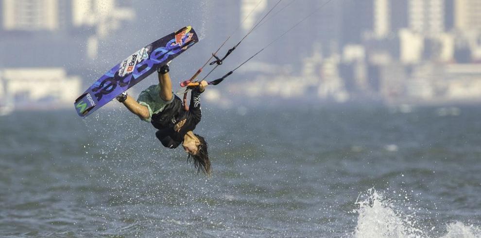 Pulido, la campeona y reina del kitesurf