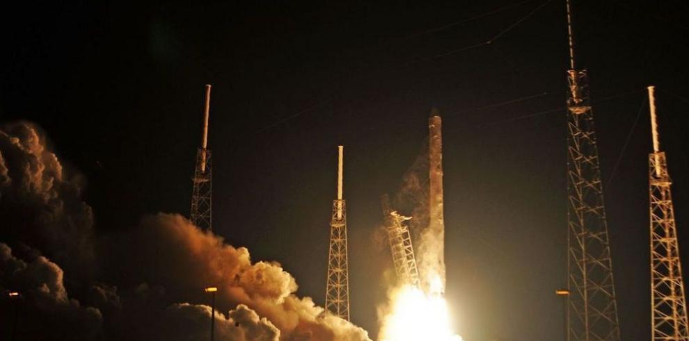 Dragón de Spacex llega a la estación