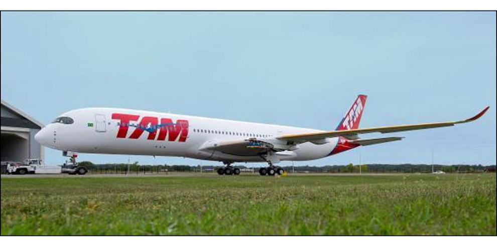TAM Airlines, primera en operar el A350 XWB