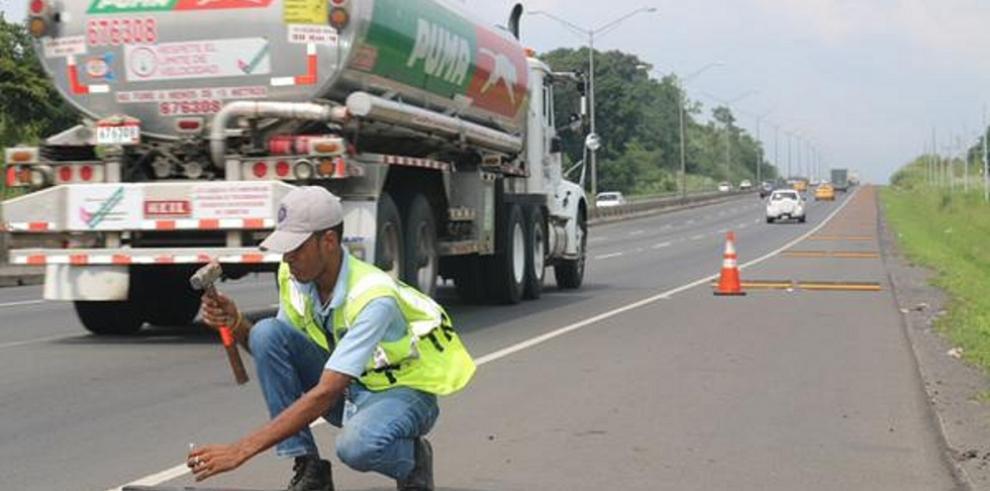 Retirarán resaltos de la autopista Arraiján-La Chorrera