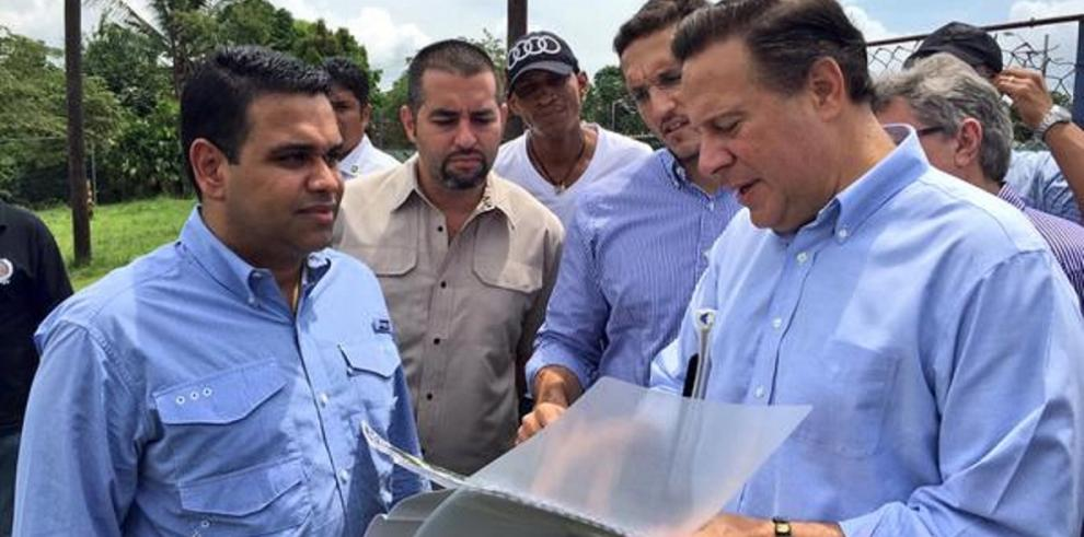 PresidenteVarela realiza inspección en Santa Marta