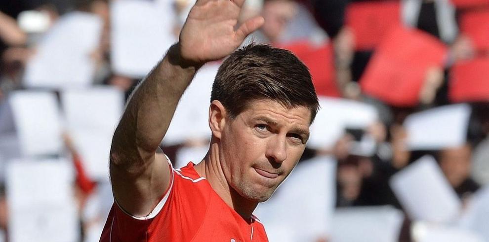 Liverpool y Palace le hicieron el pasillo de honor a Gerrard