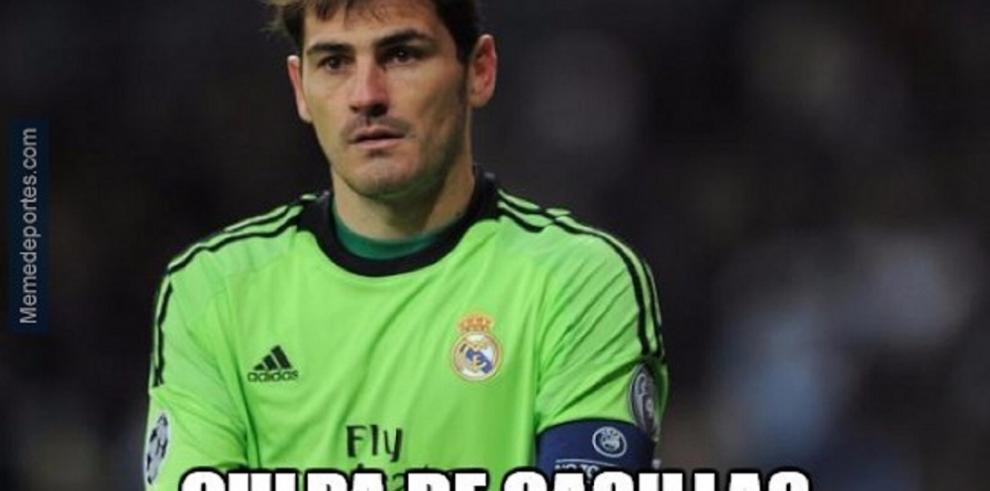 Real Madrid y Cr7 víctimas de memes