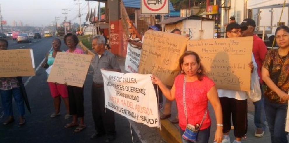 Residentes de El Crisol rechazan construcción de proyecto habitacional