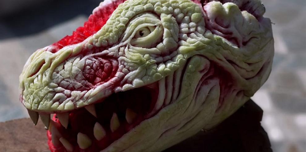 ¿Sandía o dragón?