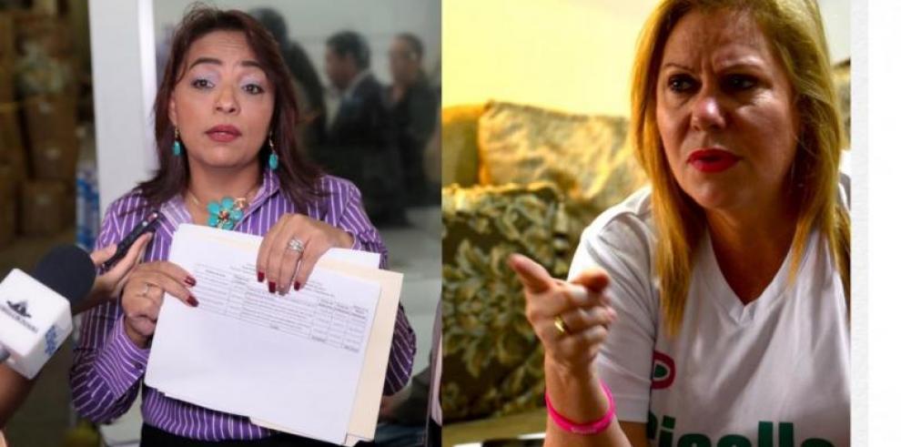 Giselle Burillo ataca a la directora de AMPYME, Ada Romero