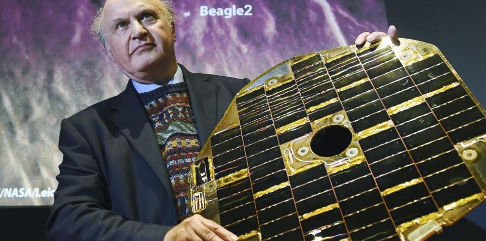 Hallan en Marte una nave espacial británica perdida desde 2003