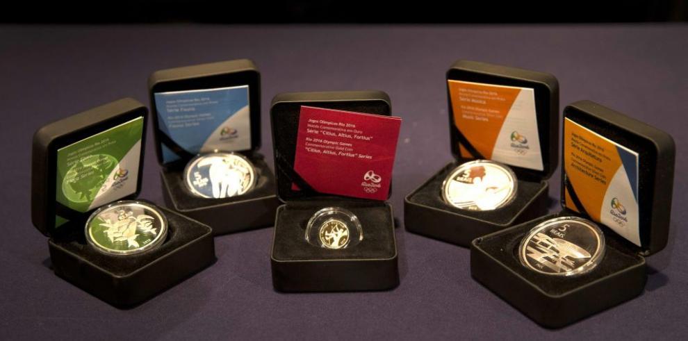 Nueva serie de monedas conmemorativas de los Olímpicos Río 2016