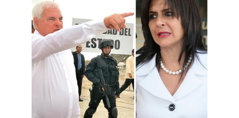 Martinelli demandará a exfiscal Chevalier por supuesta coima