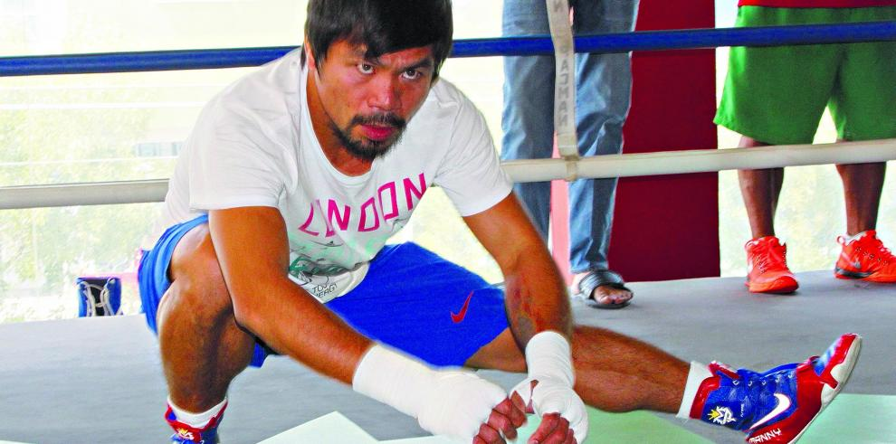 Pacquiao decidió ser boxeador porque su padre se comió a su perro