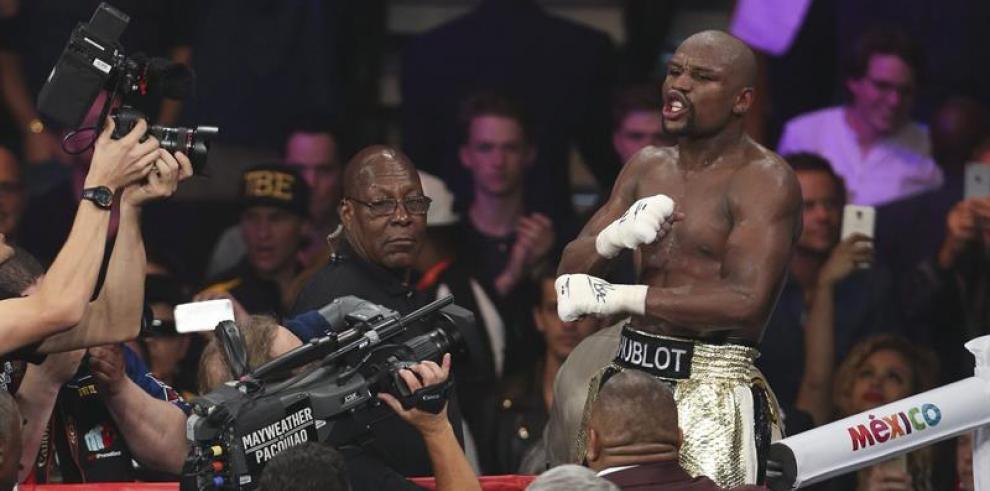 Mayweather Jr. derrotó a Pacquiao y mantuvo su invicto
