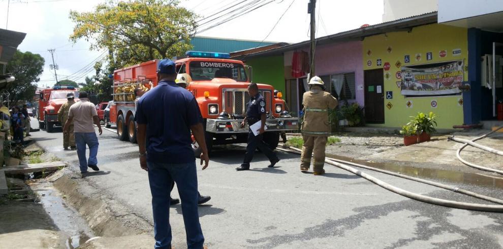 Incendio en Ministerio Público de Changuinola
