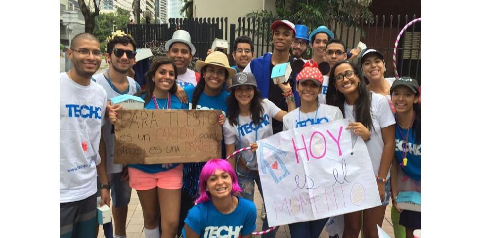 La colecta Techo llena las calles de Panamá