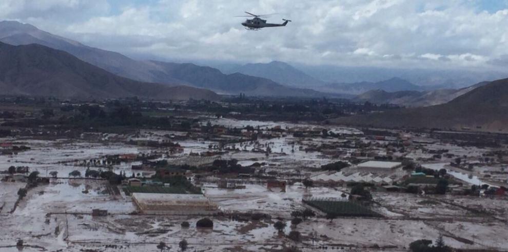 Desaparece helicóptero que participaba en tareas de ayuda en Chile