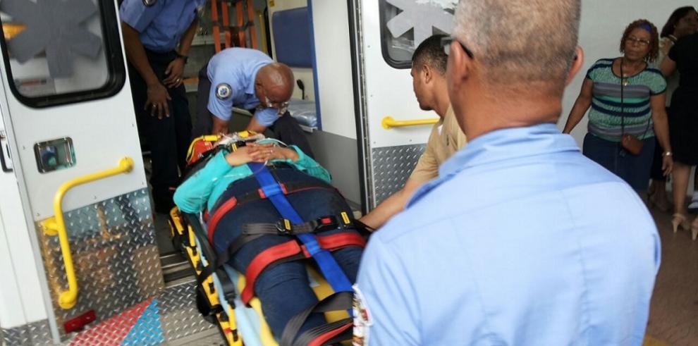 Al menos 20 heridos dejó colisión en Colón