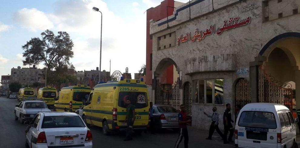 Ataques en Sinaí dejan unos 60 muertos