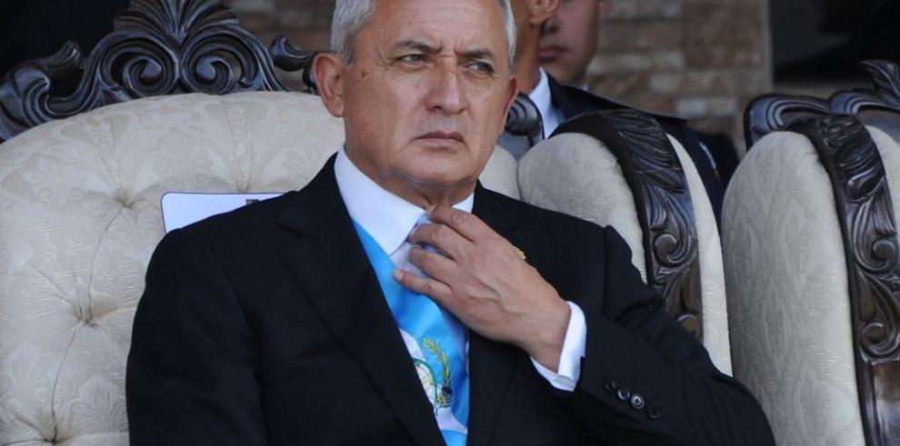 Tribunal abre el paso para un antejuicio contra Pérez Molina