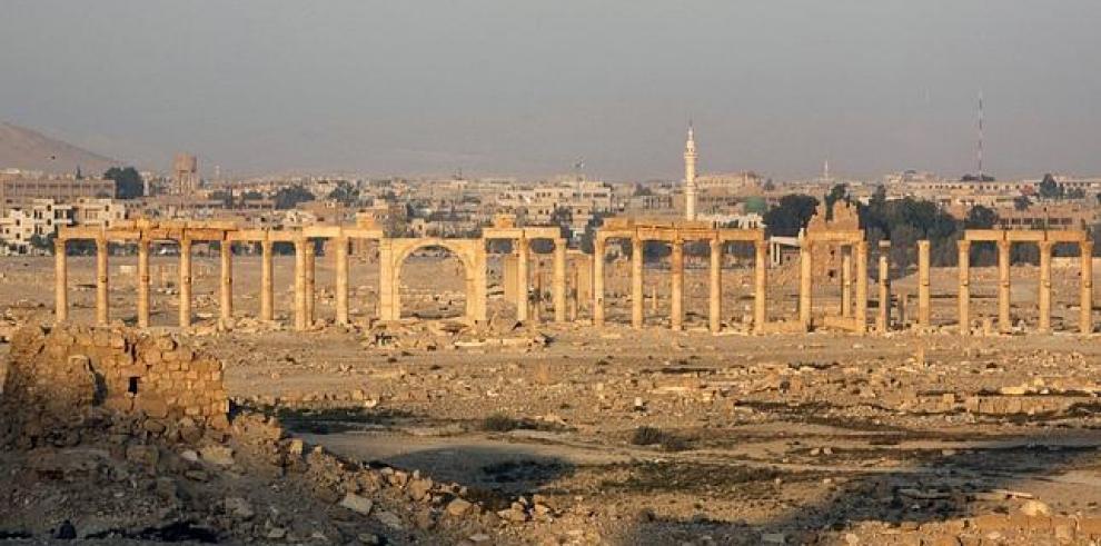 Estado Islámico destruye el León de Alat del museo de Palmira