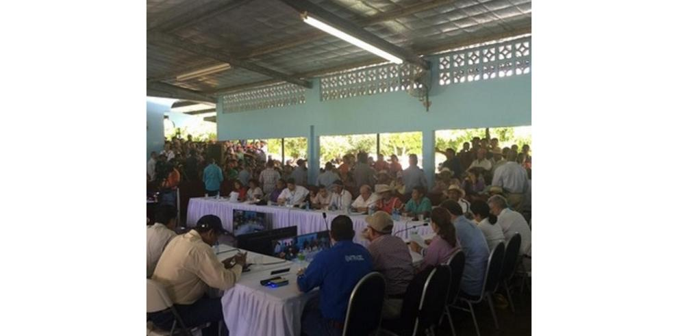 Mesa de diálogo en Barro Blanco termina sin acuerdos