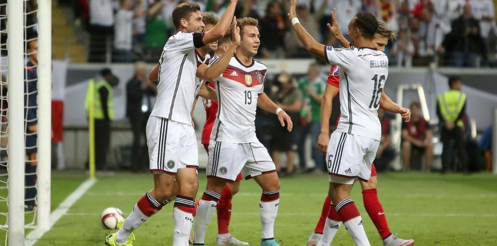 Alemania se acerca más a la Eurocopa