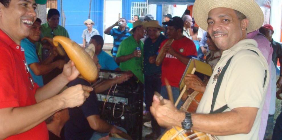 Antón preparado para el Festival Nacional Del Toro Guapo