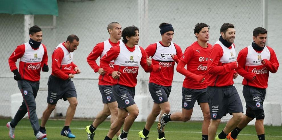 Chile y Ecuador, listos para la primera batalla