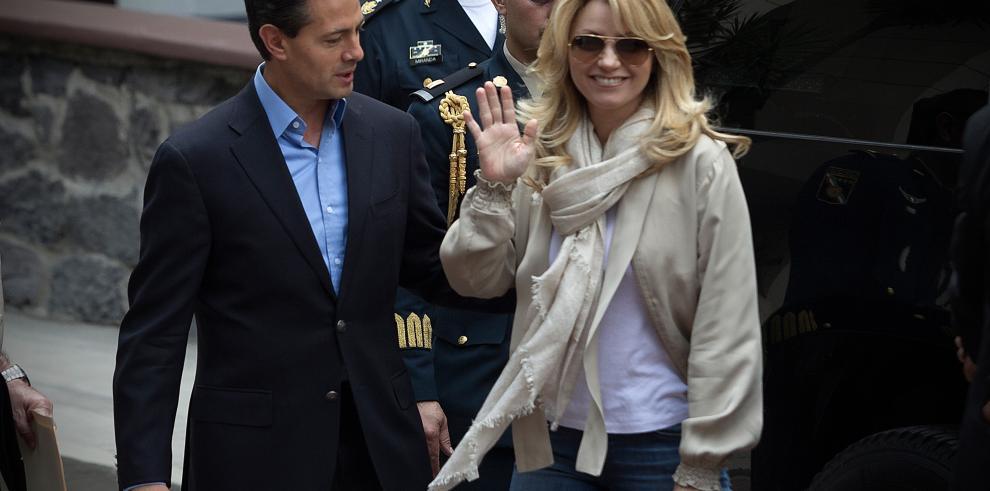 Peña Nieto sale del hospital tras operación
