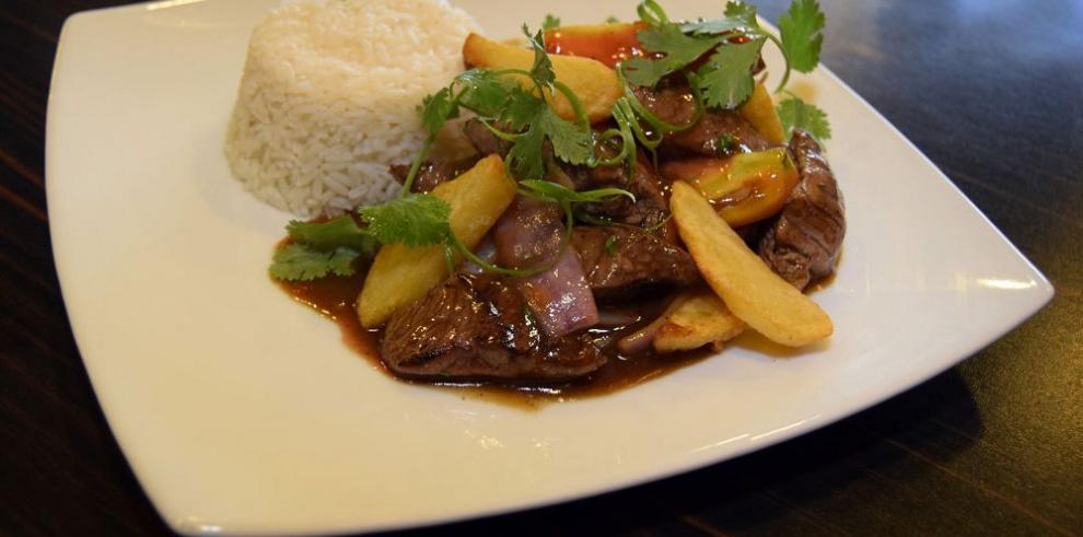 Con los sabores tradicionales del Perú