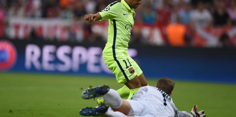 Barcelona primer finalista de la Liga de Campeones