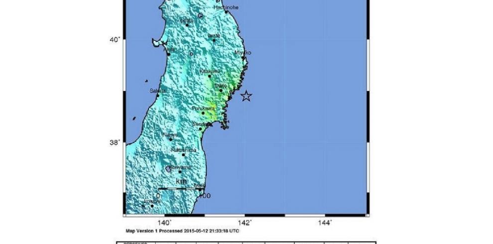 Un terremoto de 6,8 grados de magnitud sacude el noreste de Japón