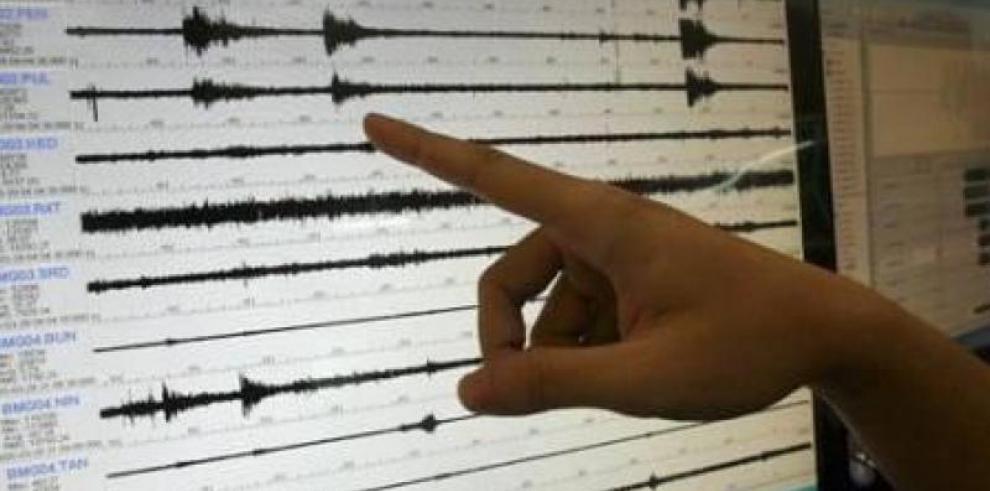 Se registra sismo de 4.7 grados en el noreste de Chepo