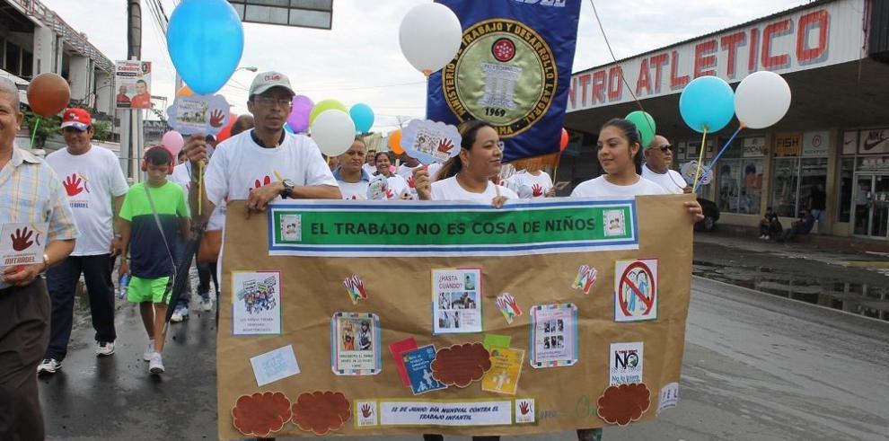 """""""No más trabajo infantil"""", la meta de Panamá"""