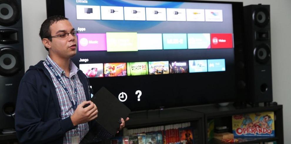 La japonesa Sony lanza en Panamá su Android TV