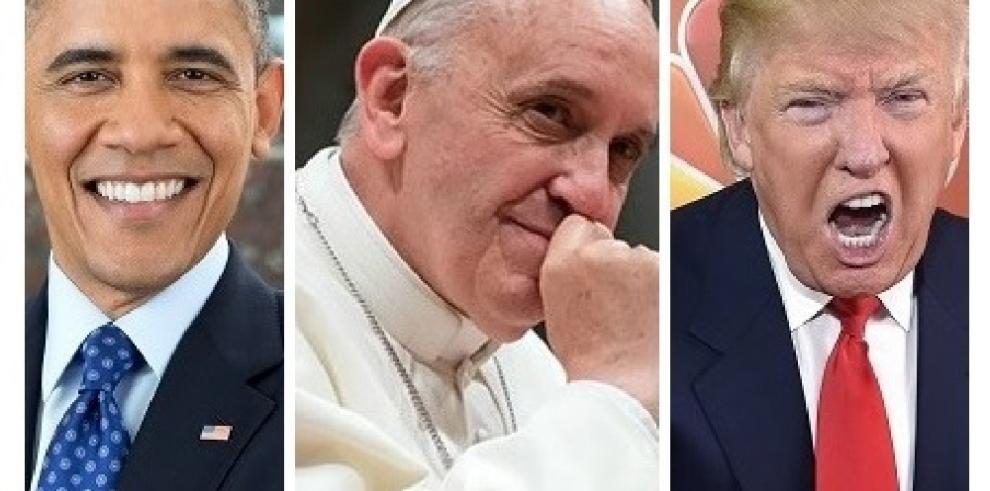 Obama, el Papa y Trump, los hombres más admirados en EEUU en 2015