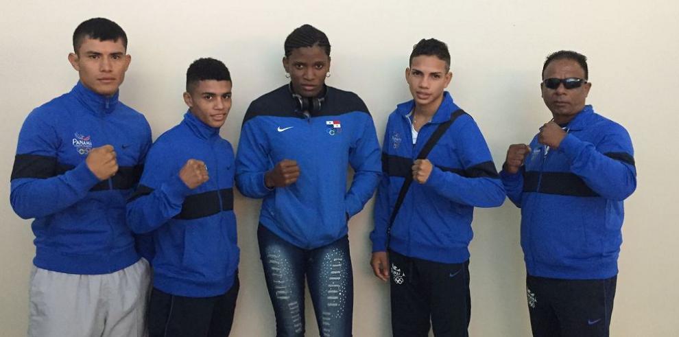 Los boxeadores panameños listos para la Copa Romana