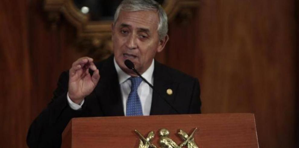 Autorizan orden de captura contra presidente Otto Pérez Molina