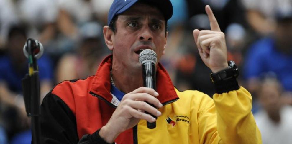 Muere en accidente el jefe de escoltas del líder opositor Capriles