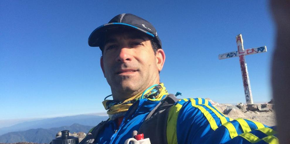Ernesto Durán y su pasión por correr distancias de aliento
