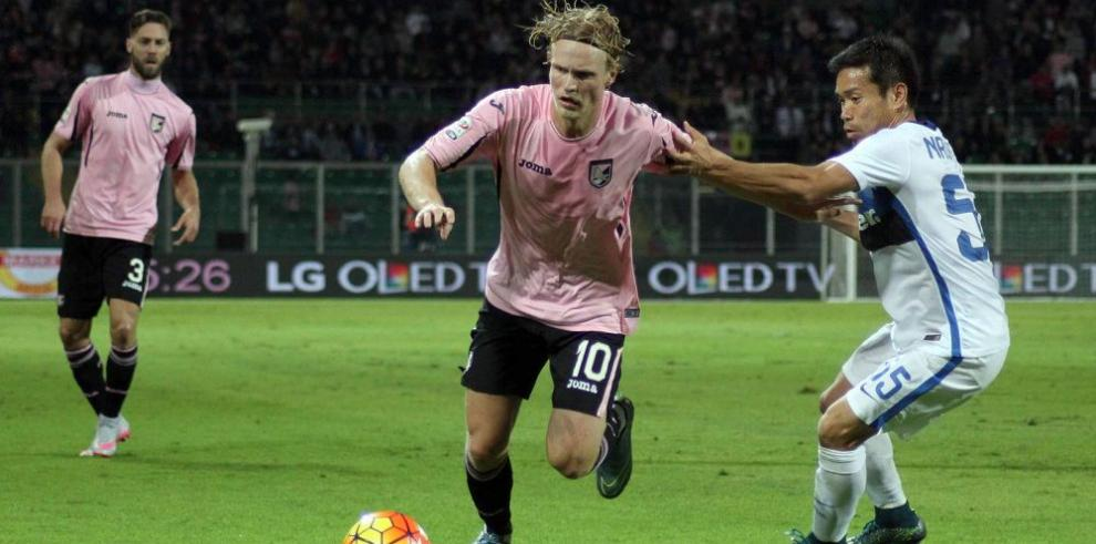 Inter empató ante el Palermo y pierde la opción de ser líder