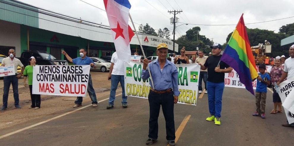 Protesta contra termoeléctrica termina en represión