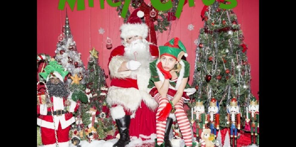 Miley Cyrus lanza el tema navideño