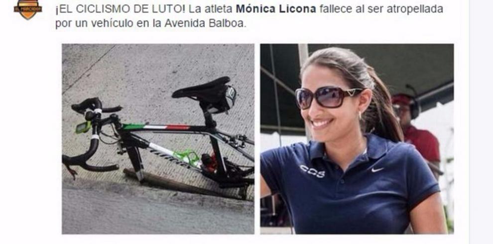 Consternación en Panamá por la muerte de Mónica Licona