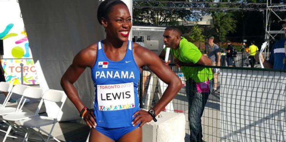 Yvette Lewis queda de octava en la final de 100 metros con vallas