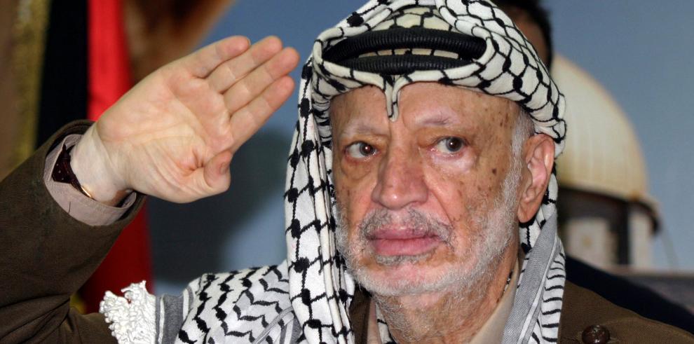 Fiscalía francesa pide que se archive el caso sobre la muerte de Arafat