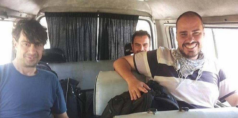 Desaparecen tres periodistas españoles en Siria