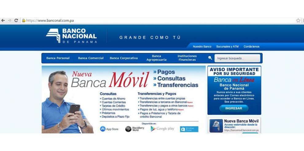 Se moderniza la banca en línea de Banco Nacional