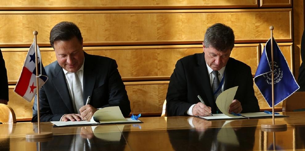 Presidente Varela entregó ratificaciones de convenios a la OIT