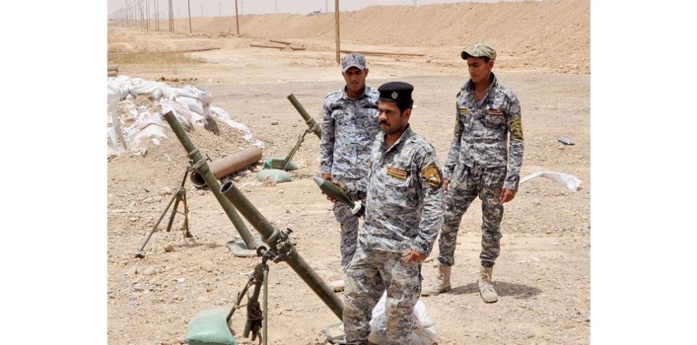 Irak busca hacer retroceder a los yihadistas