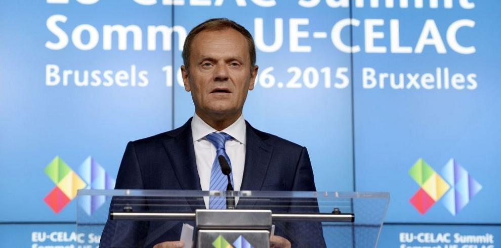 """""""Grecia debe ser realista y tomar decisiones"""", Tusk"""