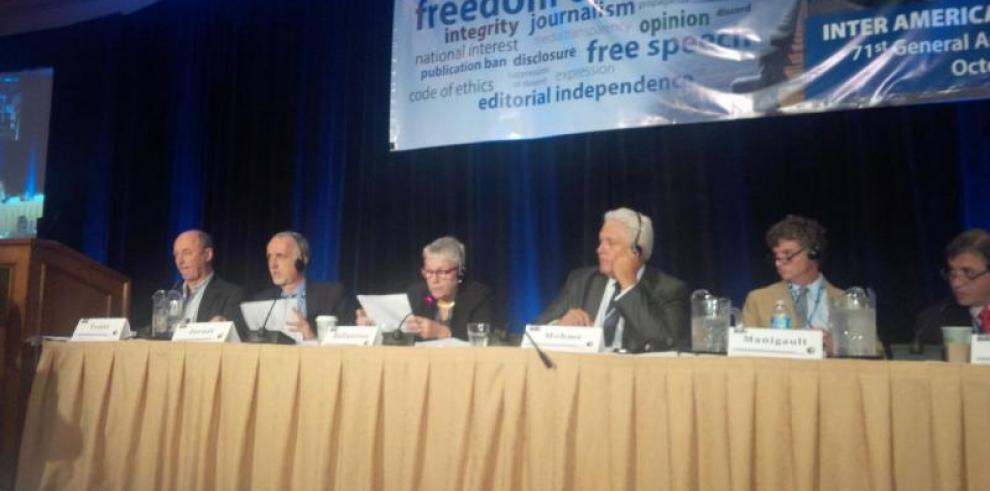 Asamblea de SIP concluye con llamado a defensa libertad de prensa
